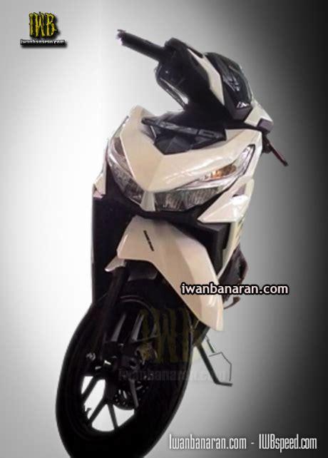Lu Led Vario 150cc tak depan vario 150 headl led keren gan