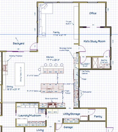 kitchen layout with island kitchen layout island 7925