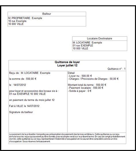 Exemple De Lettre Quittance De Loyer Modele Quittance De Loyer Foncia Document