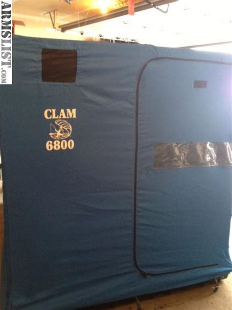 clam fish house armslist for sale trade clam 6800 fish house