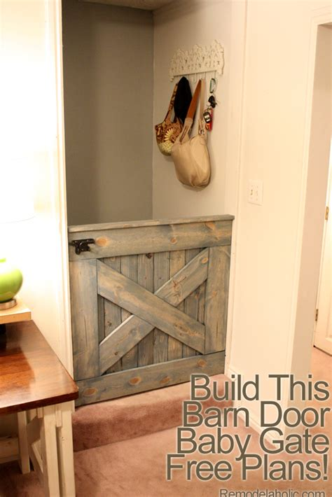 Diy Barn Door Baby Gate Barn Door Baby Gate