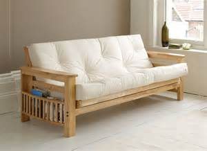 vegas hardwood 3 seater futon sofa bed available from our