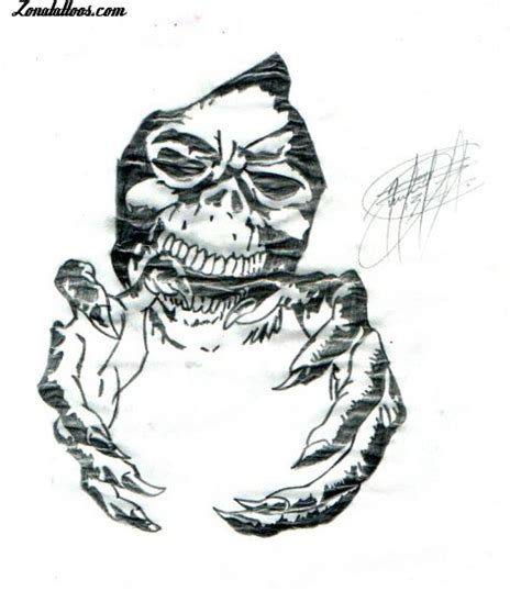 imagenes y videos de tatuajes goticos dise 241 o de g 243 ticos calaveras demonios