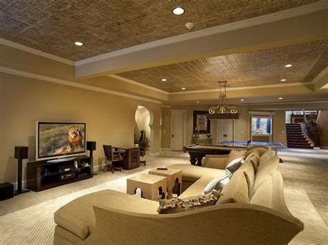 finishing basement ceiling ideas anoceanview home