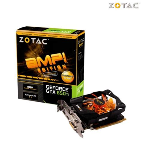 Gfx Card Zotac Nvidia Gtx 650 zotac nvidia gtx 650 ti edition 2gb ddr5 graphics card buy zotac nvidia gtx 650 ti
