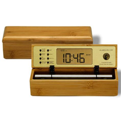 now and zen digital zen bamboo b tone alarm clock review