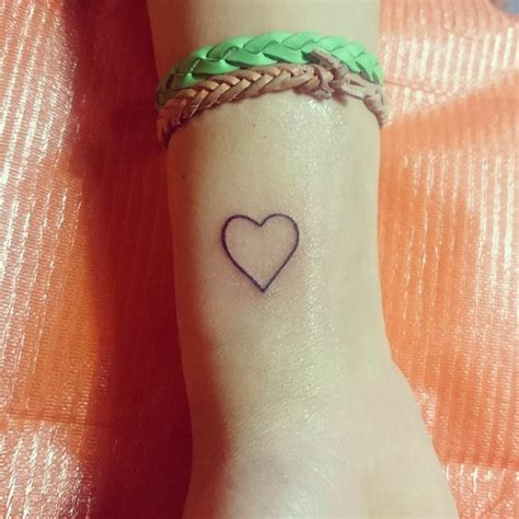 small heart wrist tattoo 28 small designs ideas design trends