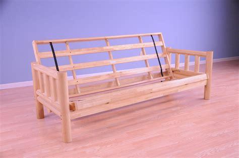 lodge futon frame natural  kodiak