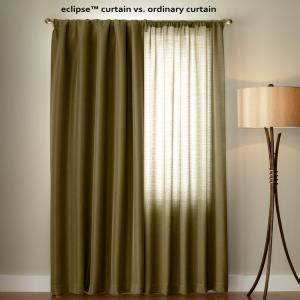 eclipse patricia curtains eclipse patricia blackout cafe grommet curtain panel 63