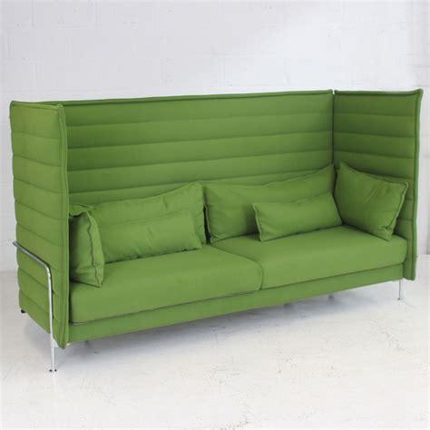 sofa vitra vitra alcove highback three seater office pod high