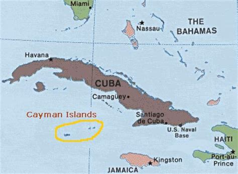 cayman islands map caribbean cayman islands map george town