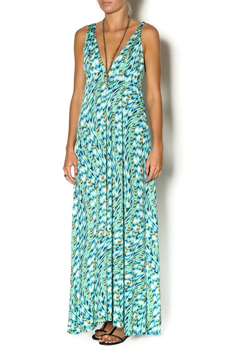 Wst 9928 Print Dress Size M Sale m print maxi dress from west loop by tribeca