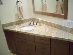 Bathroom Granite Countertops Ideas 30 Interesting Bathroom Countertop Granite Tile Picture