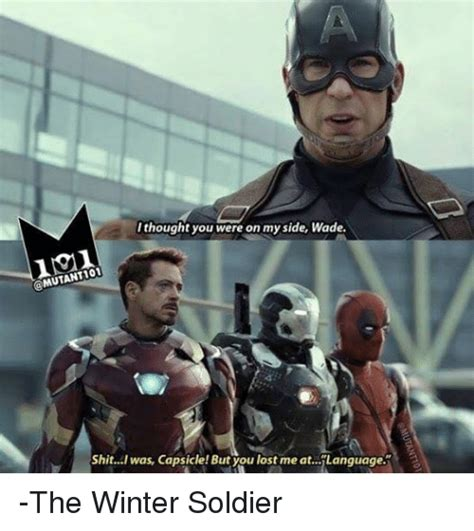Winter Soldier Meme - funny lost shit and winter memes of 2016 on sizzle