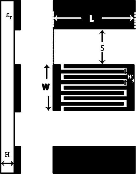 interdigital capacitor design of a zeroth order resonator uhf rfid passive tag antenna with capacitive loaded coplanar