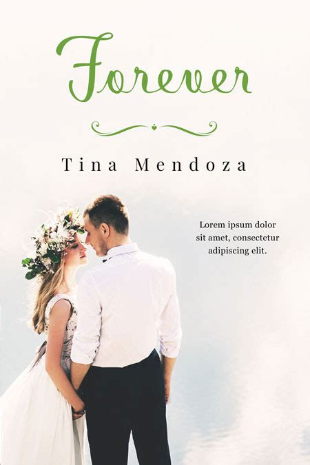 Premade Book Covers Wedding by Forever Yours Wedding Premade Book Cover For