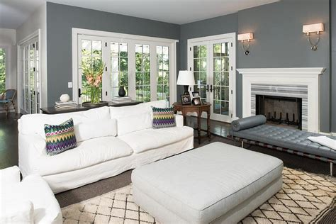 charcoal and living room white and charcoal gray living room with symmetric twist sconces gray living room white fireplace