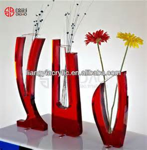 plexiglas vase acrylic vase plexiglass vase plastic vases buy plastic