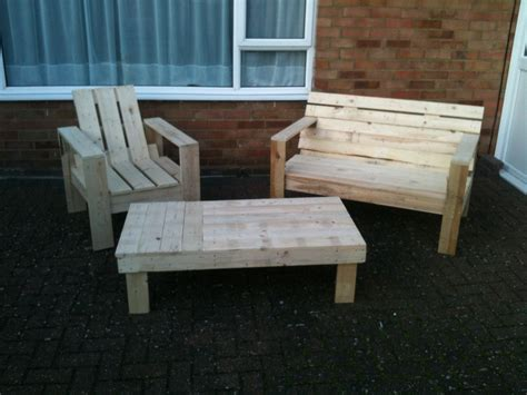 outdoor table and bench seats diy pallet chair design ideas to try keribrownhomes