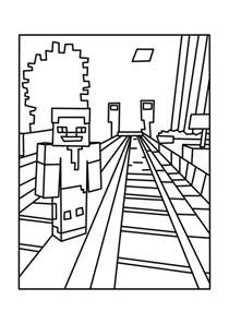 printable minecraft coloring az coloring pages