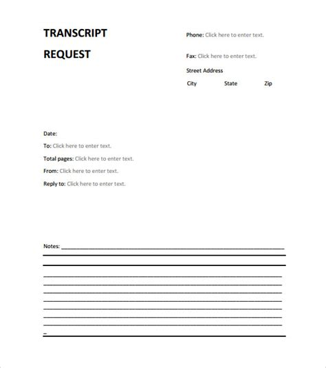 Transcript Request Letter Exle Generic Fax Cover Sheet Doc 564729 Sle Fax Cover Letter Template Sle Fax Doc 564729