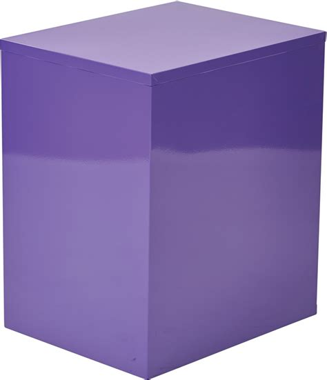 Purple Filing Cabinet Osp Designs 3 Drawer Storage Cabinet With Locking Filing Drawer Purple Hpbf512 By Office