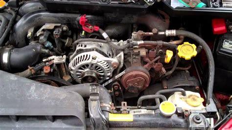 2000 subaru outback alternator how to install subaru outback alternator
