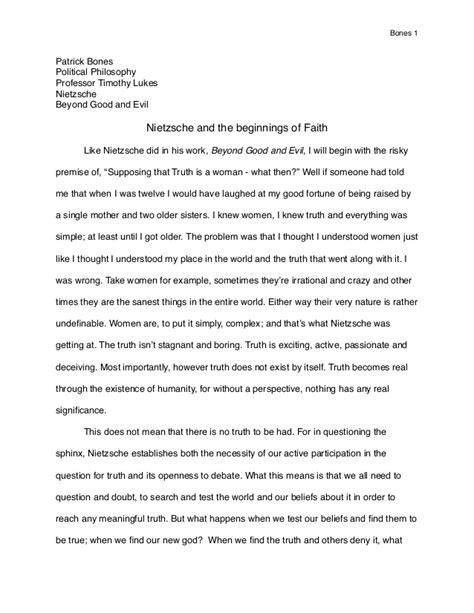 Nietzsche Essay by Nietzsche Political Philosophy Essay