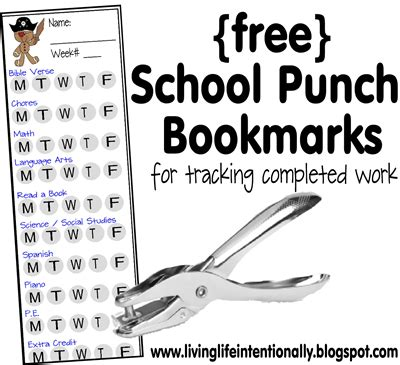 Punch Card Template For School by School Punch Cards