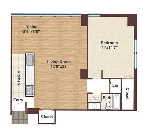 1 bedroom studios apartment 1 bedroom studio floor plan rittenhouse square
