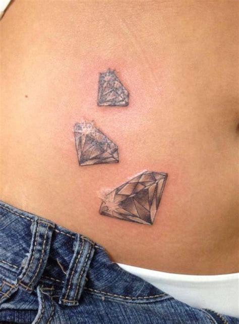 diamond tattoo designs ideas best 25 tattoos ideas on black