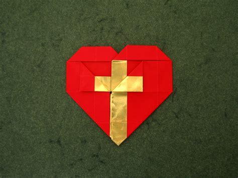 Origami Cross - cross andrey lukyanov happy folding