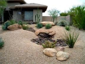 Decorative Gravel Garden Ideas by Landscape Charming Desert Landscaping Ideas Desert