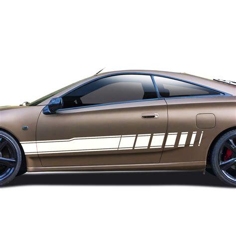 Racing Design Aufkleber by Autoaufkleber Seitenstreifen Racing Design Auto