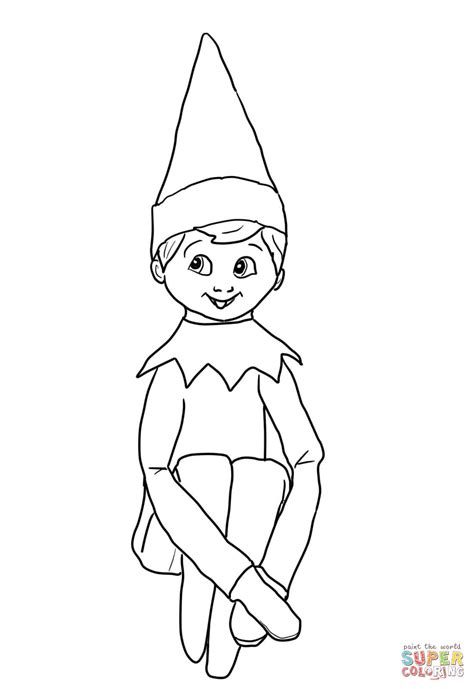 on the shelf coloring pages to print coloring home