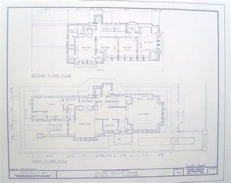 frank lloyd wright blueprints frank lloyd wright heller house floor plan by