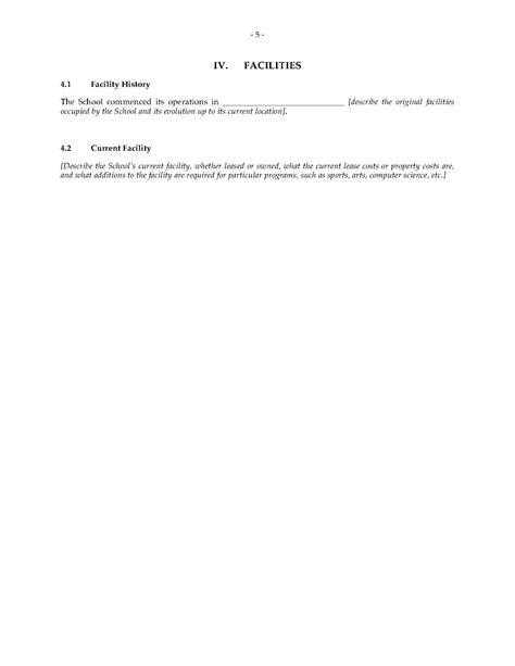 charter school business plan forms and business