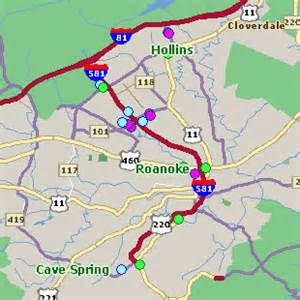Map Of Roanoke Virginia by Roanoke Va Hotel Rates Comparison Amp Reservations Guide Map