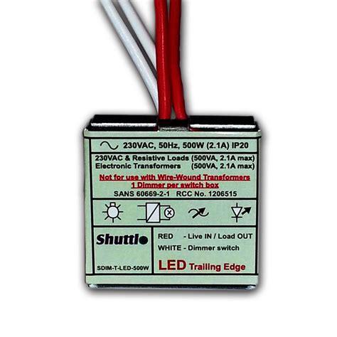 Led Lights Flicker Shuttle Dimmer Module Sdim T Led 500w Karebostore