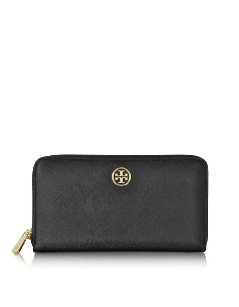 Burch Multi Gusset Zip Continental Wallet lyst burch robinson multi gusset zip continental wallet