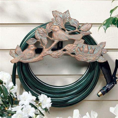 decorative hose holder decorative garden hose holders homesfeed