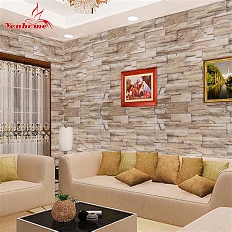 buy 5m self adhesive brick wall papers roll for walls