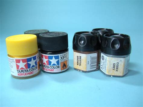 types of acrylic paint paint types scale model guide