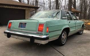 Crown Ford Service Pre Fox Panther 1979 Ford Ltd Crown