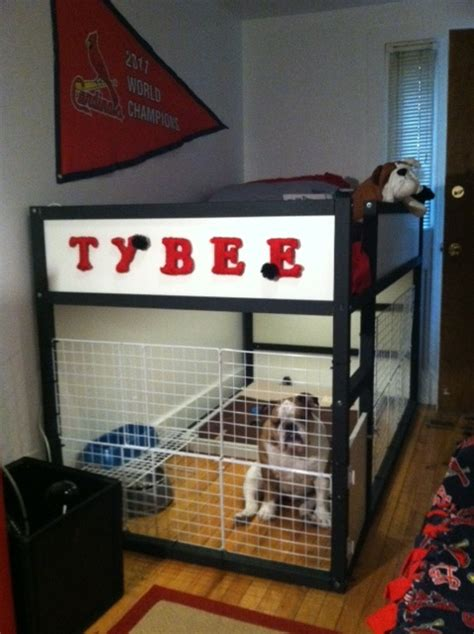 ikea hack dog house ikea hackers clever ideas and hacks for your ikea this was made using the kura bed