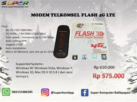 Modem Telkomsel Flash Ce0682 modem telkomsel flash 4g lte