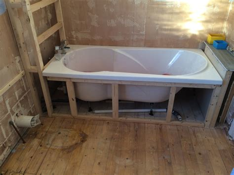 install bathtub bathtub framing support bing images