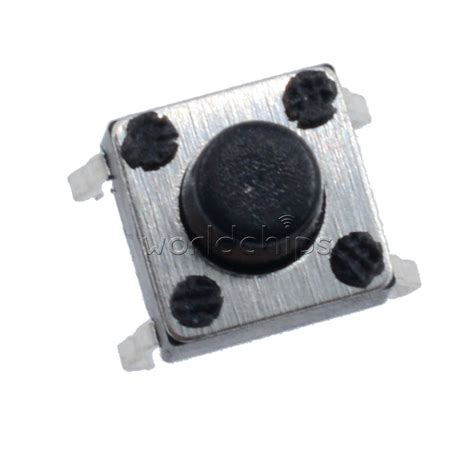 Tact Switch 6x6x6 Mm Saklar Kecil Micro On Tactile 4 Pin 50pcs miniature micro touch push button switch momentary tactile tact 6x6x6 mm ebay