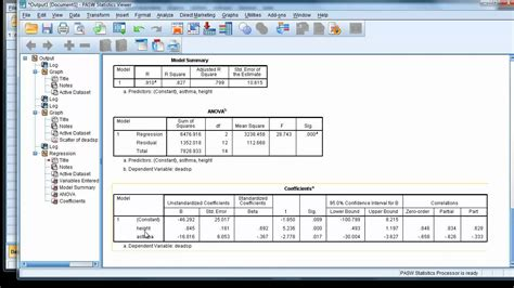 Tutorial Spss Ancova | multiple regression 2 part 1 1 continuous 1 nominal