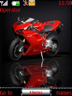 bike themes download for mobile download red bike ducati nokia theme mobile toones